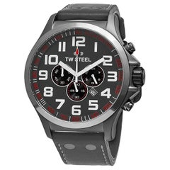 TW Steel Pilot Men's Chronograph Steel Quartz Men's Watch TW422