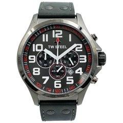 TW Steel Pilot Men's Chronograph Steel Quartz Men's Watch TW422