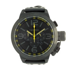 TW Steel PVD Black Stainless Steel Canteen Chronograph