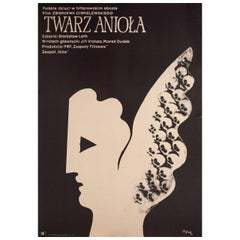 'Twarz Aniola' 1971 Polish A1 Film Poster