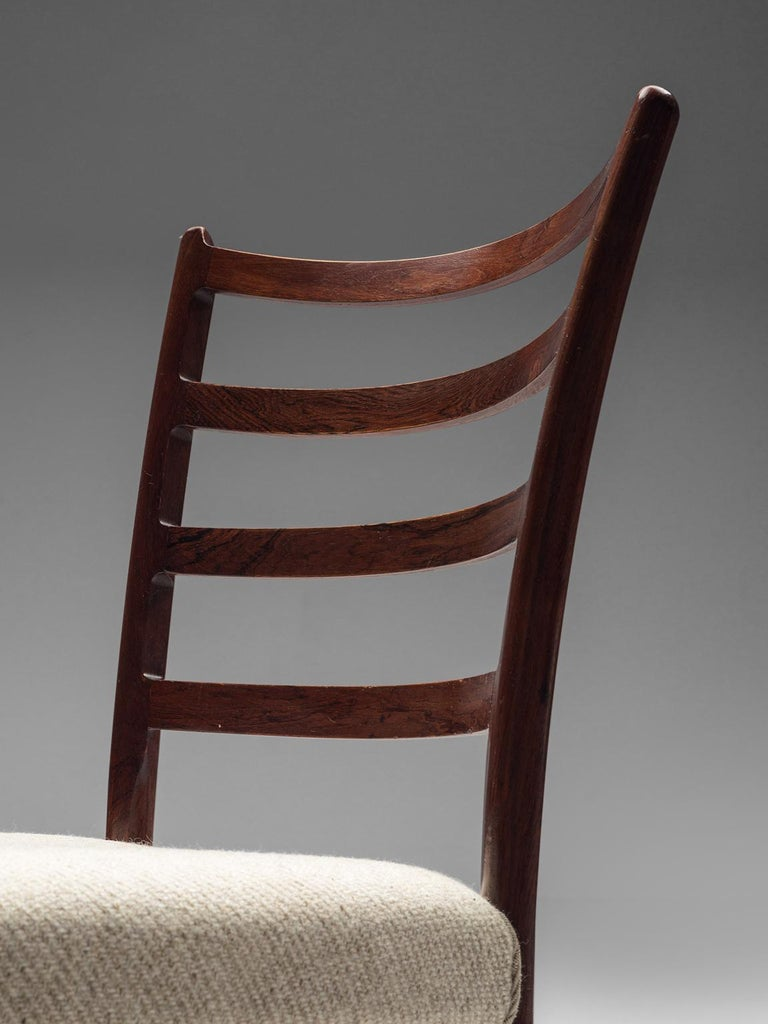 Twelve Danish Rosewood Dining Chairs For Sale 1