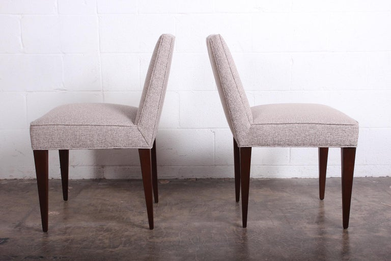 Twelve Dining Chairs by Edward Wormley for Dunbar For Sale 2