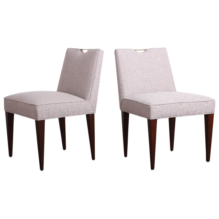 Twelve Dining Chairs by Edward Wormley for Dunbar For Sale
