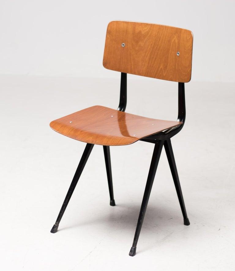 Twelve Friso Kramer Result Chairs, 1952 For Sale 1