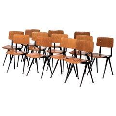 Twelve Friso Kramer Result Chairs, 1952