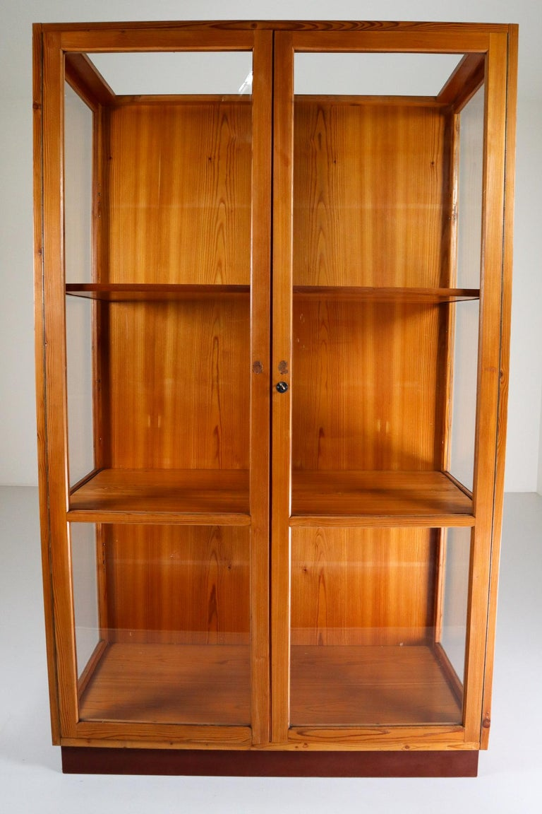 Twelve Glazed Display Cabinets from The National Museum in Praque, 1950s For Sale 4