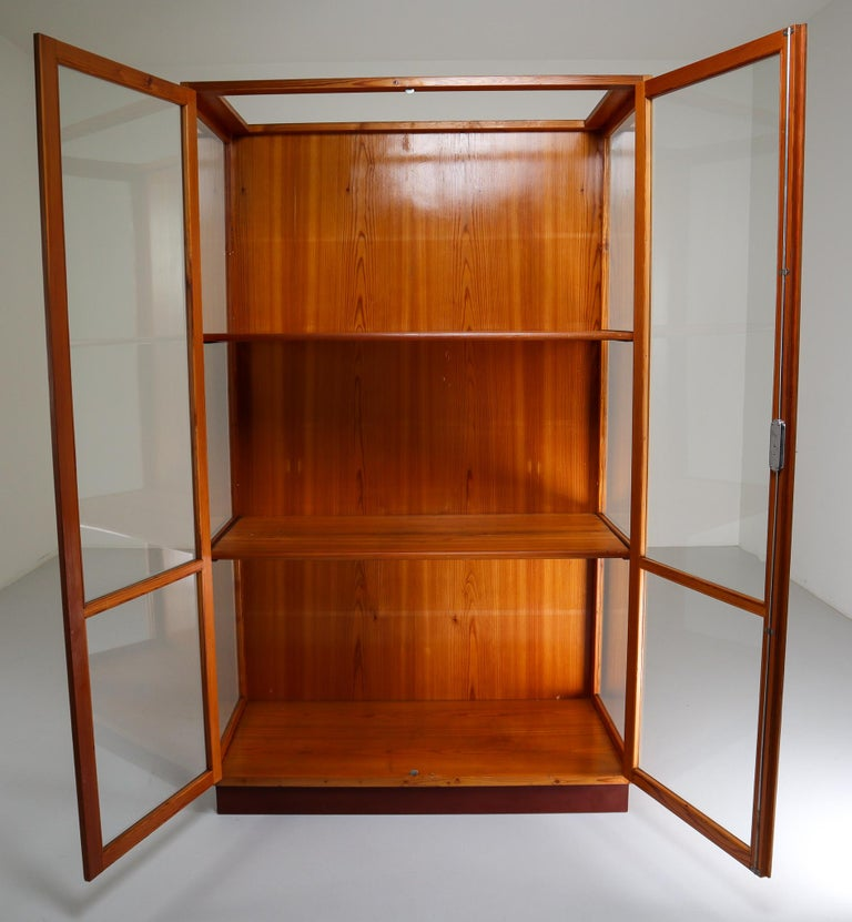 Twelve Glazed Display Cabinets from The National Museum in Praque, 1950s For Sale 2