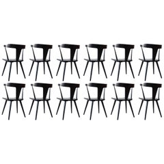 Twelve Paul McCobb Dining Chairs