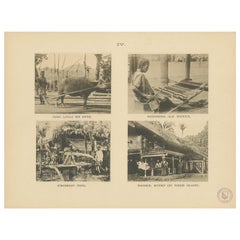 Twelve Prints of Aceh 'Atjeh' Published by E.J. Brill, '1895'