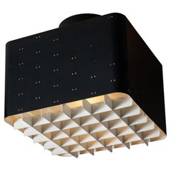 """Twelve """"Starry Sky"""" Flush Mount Ceiling Lghts by Paavo Tynell for Taito Oy"""