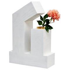 Twenty-Seven Woods, Chinese Artificial Flower Vase Alpha by Ettore Sottsass