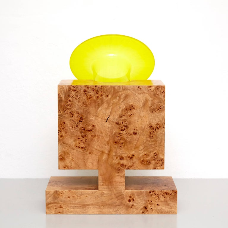 Late 20th Century Twenty-Seven Woods for a Chinese Artificial Flower Vase L by Ettore Sottsass For Sale