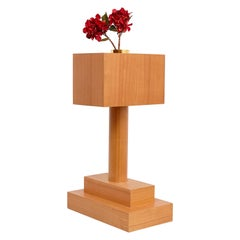 Twenty-Seven Woods for a Chinese Artificial Flowers, Vase F by Ettore Sottsass