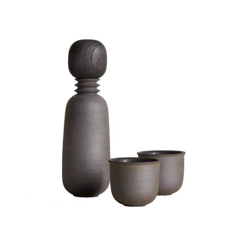 Twilight, Carafe Teacup Set, Slip Cast Ceramic, N/O Service Collection For Sale