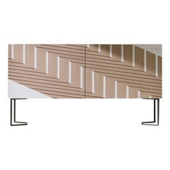 Twill Intarsia Sideboard by Bartoli Design