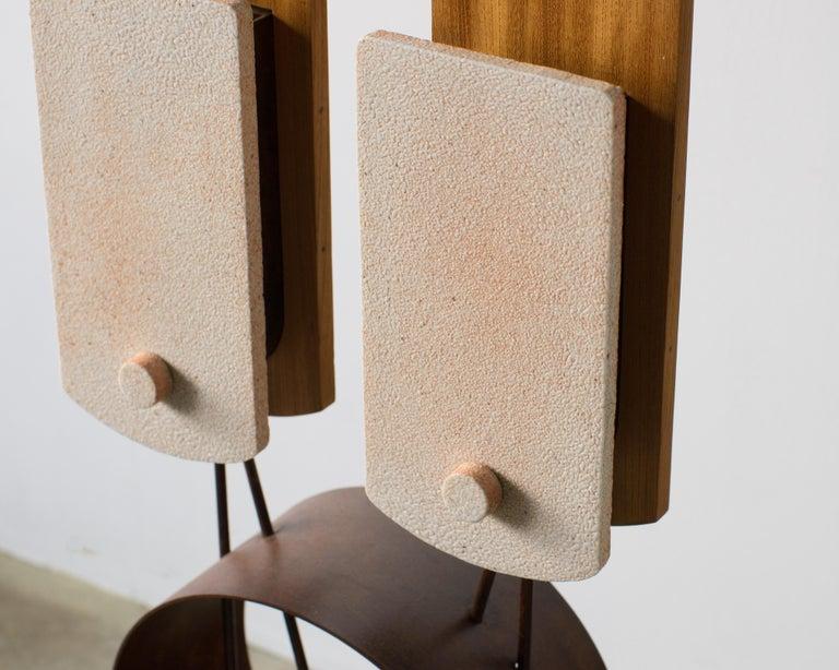 Twin Lights Takuya Hamajima Contemporary Zen Japanese Ceramic For Sale 1