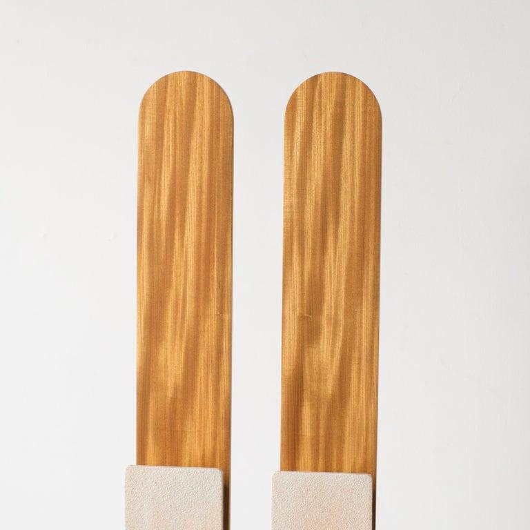 Twin Lights Takuya Hamajima Contemporary Zen Japanese Ceramic For Sale 2