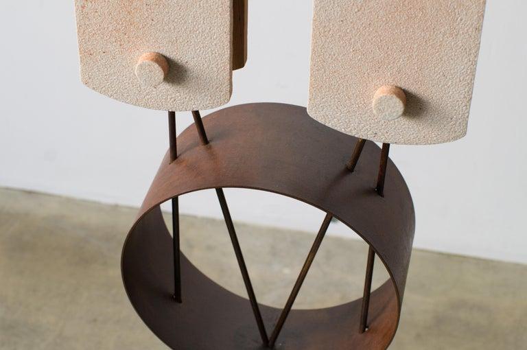 Twin Lights Takuya Hamajima Contemporary Zen Japanese Ceramic For Sale 3