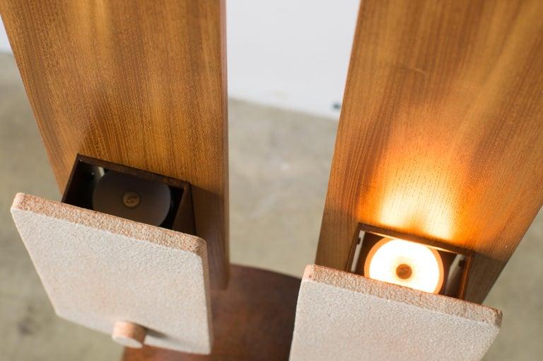 Twin Lights Takuya Hamajima Contemporary Zen Japanese Ceramic For Sale 4
