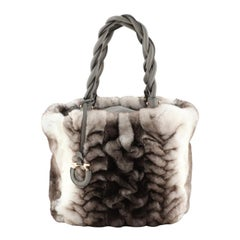 Twisted Tote Mink Small