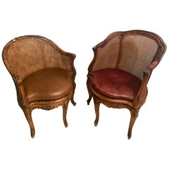 Louis XV Bergere Chairs