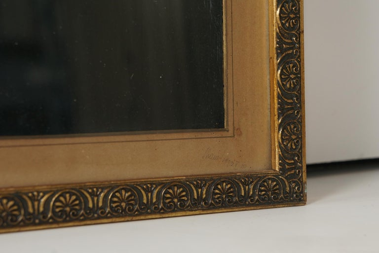 Wood Two 19th Century Oil on Board Paintings After Pompeian Fresco For Sale