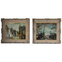 Two 20th Century French Paintings