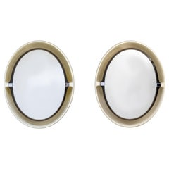 Two Alibert Back Lid Mirrors, 1970s