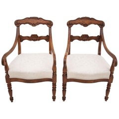Two Antique Armchairs, Early 20th Century