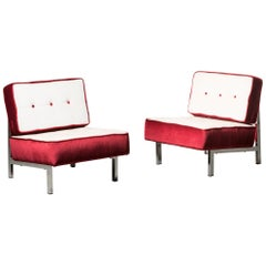 Two Armchairs by Ico Parisi