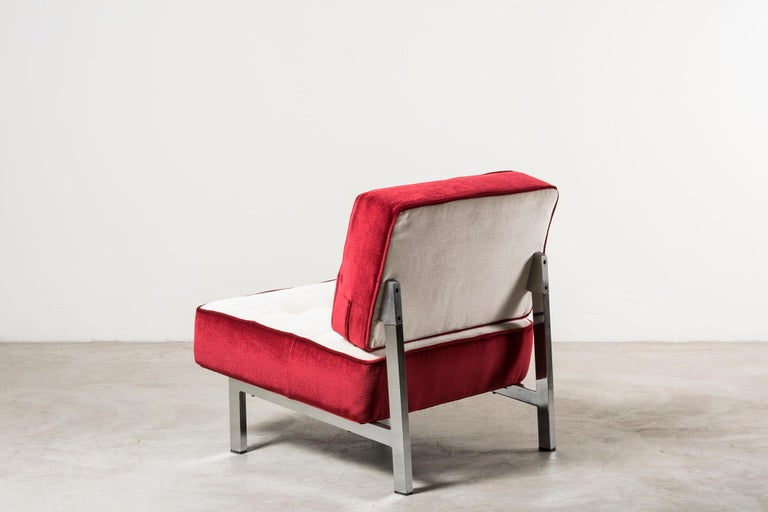 Two Armchairs by MIM In Good Condition For Sale In Milan, IT