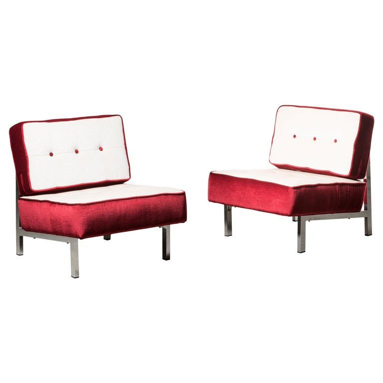 Two Armchairs by MIM For Sale