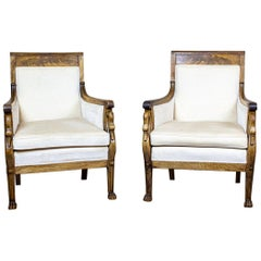 Two Armchairs from the Early 20th Century