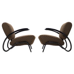 Two Armchairs H-275 by Jindrich Halabala, 1930s
