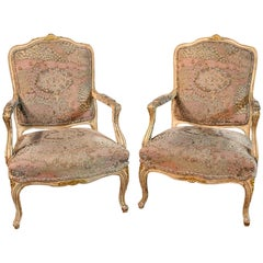 Two Armchairs in Baroque Style