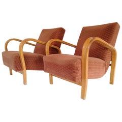 Two Art Deco Armchair Kropacek