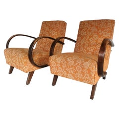 Two Art Deco J.Halabala Armchair from 1930
