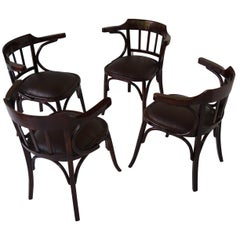 Four Thonet Armchair from 1910