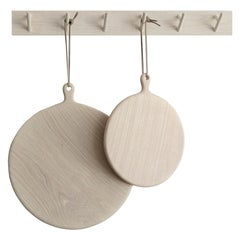 Two Ashwood Pizza Boards with Wall Hanger Set