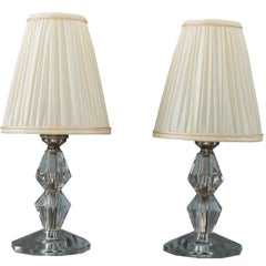 Two Bakalowits Table Lamps, circa 1950s