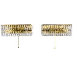 Two Bakalowits Wall Lamps, circa 1960s