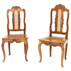 Two Baroque Chairs, Prob. Butzbach, Germany, Mid-18th Century