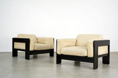 """Two """"Bastiano"""" Armchairs by Afra & Tobia Scarpa for Knoll International, 1960"""