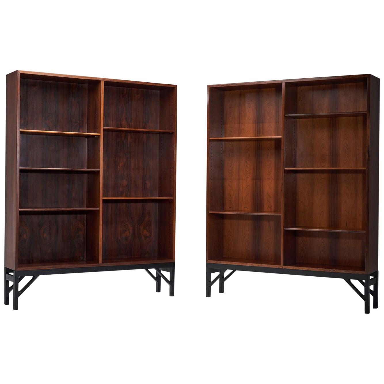 Two Bookcases by Børge Mogensen for C. M. Madsen, Denmark, 1950s