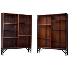 Two Bookcases by Børge Mogensen for C. M. Madsen, Denmark, 1950s