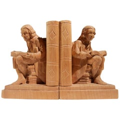 Two Bookends Georg Lang Sel, circa 1950s