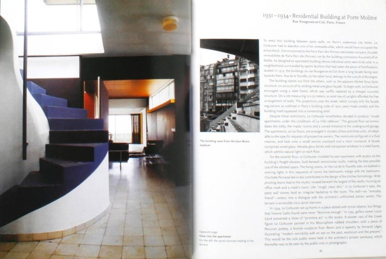Two Books on Le Corbusier For Sale 8