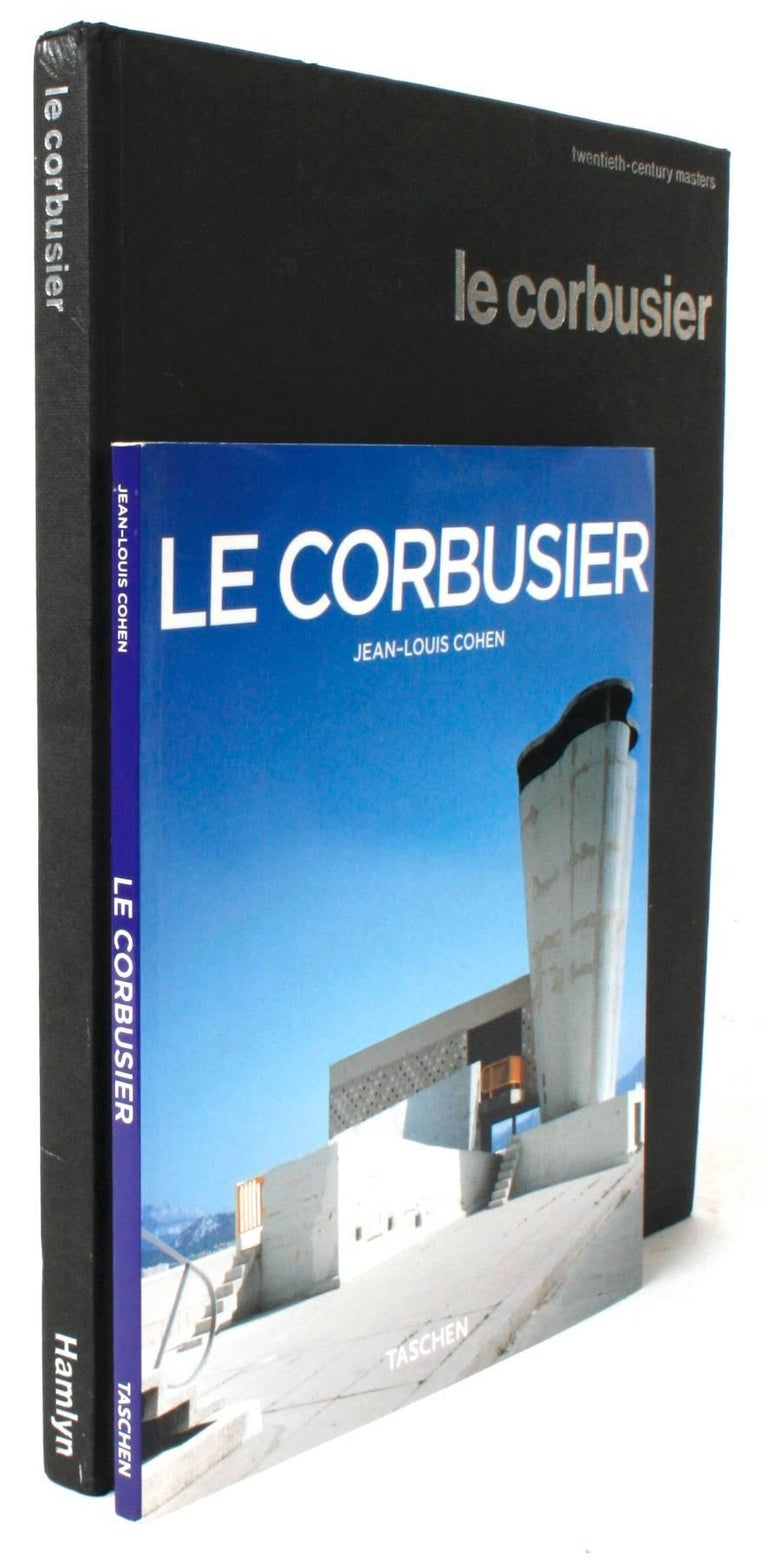 Two Books on Le Corbusier. 1.) Le Corbusier 1887-1965 The Lyricism of Architecture in the Machine Age by Jean-Louis Cohen. Köln: Taschen, 2004. Softcover. 96 pp. A book on the life and work of Charles-Edouard Jeanneret, Le Corbusier, that shows his