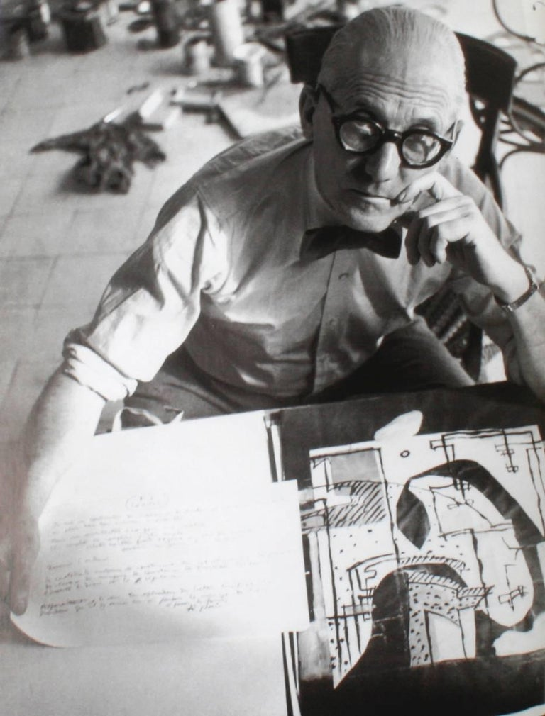 German Two Books on Le Corbusier For Sale