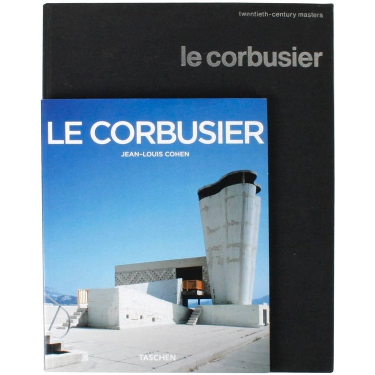 Two Books on Le Corbusier For Sale